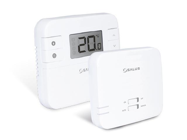 SALUS RT310RF - Bezdrátový digitální manuální termostat