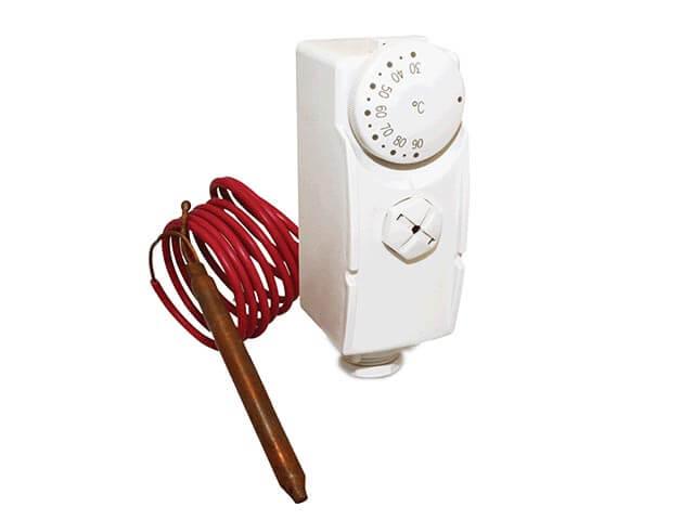 SALUS AT10F - Příložný termostat s kapilárou