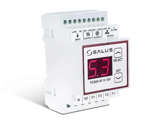 SALUS FC600-M 0-10V - Řídící modul termostatu FC600